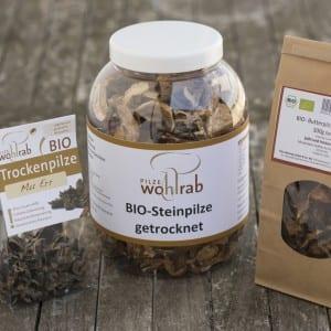 Trockenpilze von Pilze Wohlrab